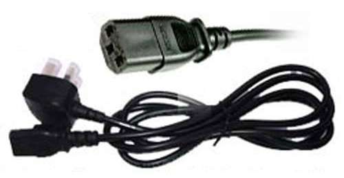 Replacement 13amp Mains Power Cable for 32'' - 42'' LCD/Plasma TV's - RMU/CAB/0003