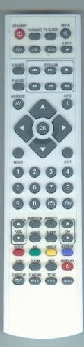 Replacement remote control - XMU/RMC/0039 - XMU/RMC/0039