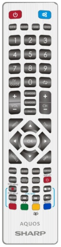 Replacement remote control - SHW-RMC-0105C (White) - SHW-RMC-0105C