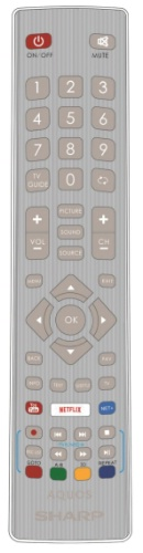 Replacement remote control - SHW/RMC/0115 - SHW/RMC/0115