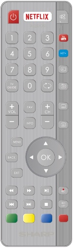 Replacement remote control - SHW/RMC/0116 - RF - SHW/RMC/0116