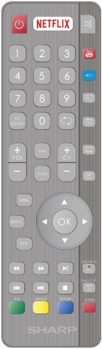 Replacement remote control - SHW/RMC/0117 - RF DVD - SHW/RMC/0117