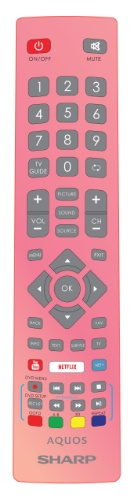 Replacement remote control - SHW/RMC/0125 - Rose Gold - SHW/RMC/0125