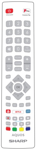 Replacement remote control - SHW/RMC/0126 - SHW/RMC/0126