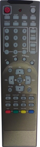 Replacement remote control - T42/REM/0001 - T42/REM/0001