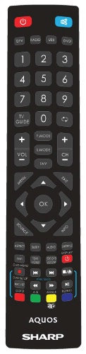 Replacement remote control - J19/RMC/0001